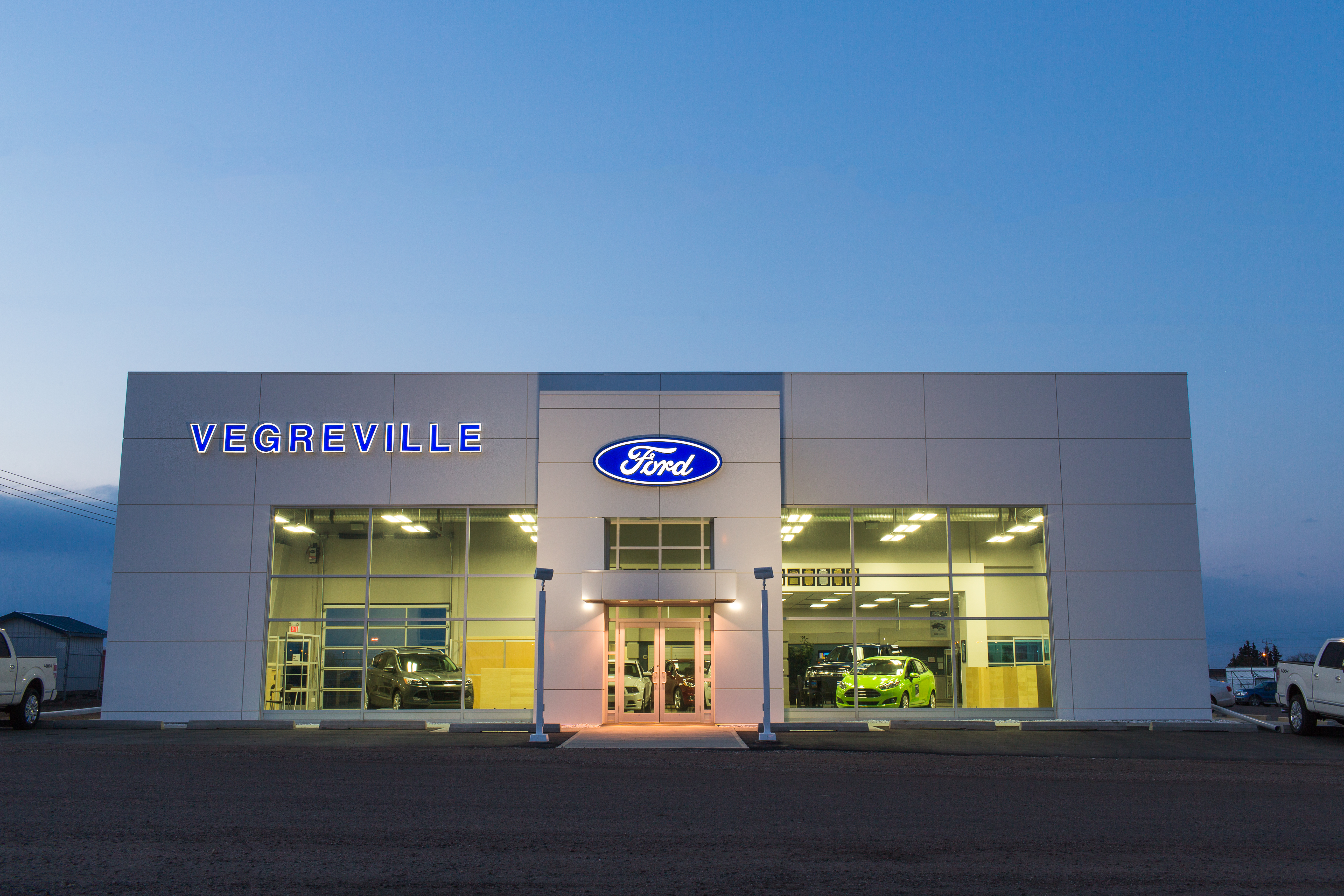 Recent Work: Vegreville Ford Dealership Addition