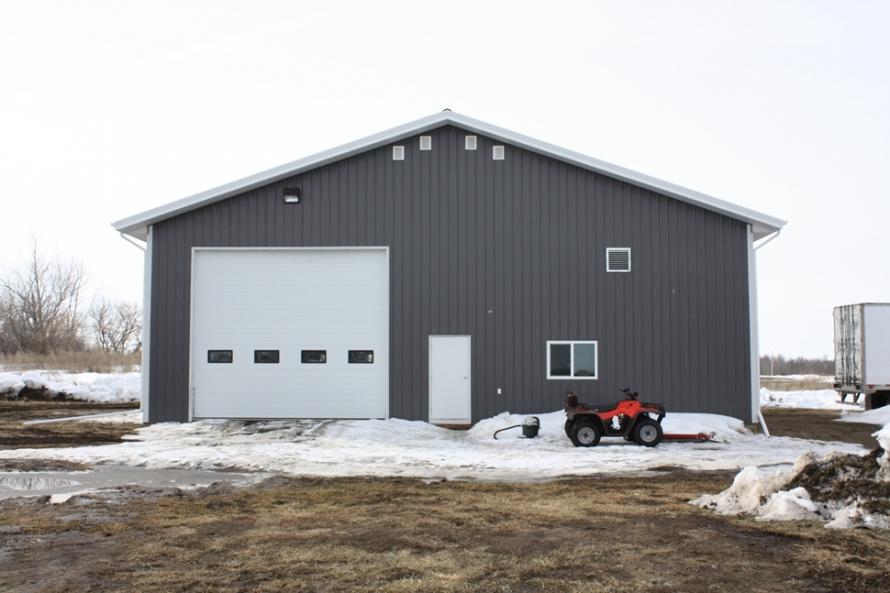 Recent Work Post Frame Shops 187 Vantage Builders