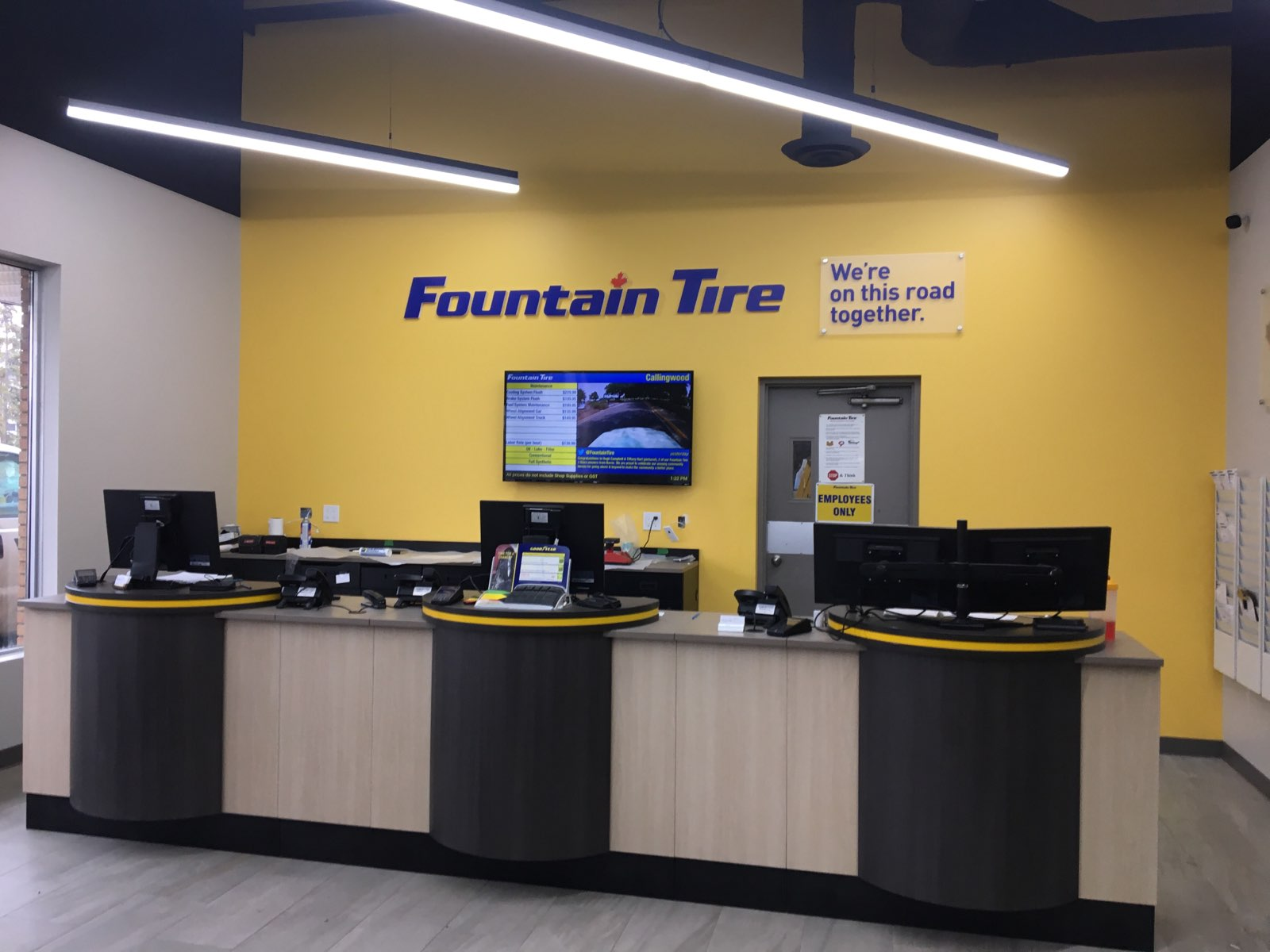 Recent Work:  Fountain Tire