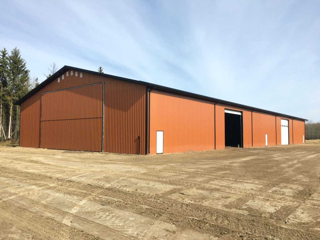 Agricultural design and build by Vantage Builders in Vegreville, Alberta