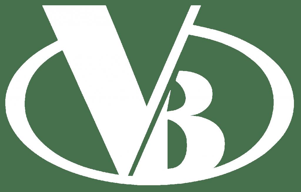 Vantage Builders white logo